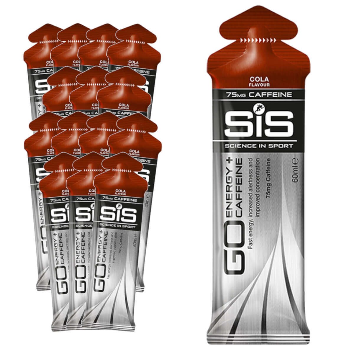 Gel Carboidrato SIS Energy Caffeine Cola 15un