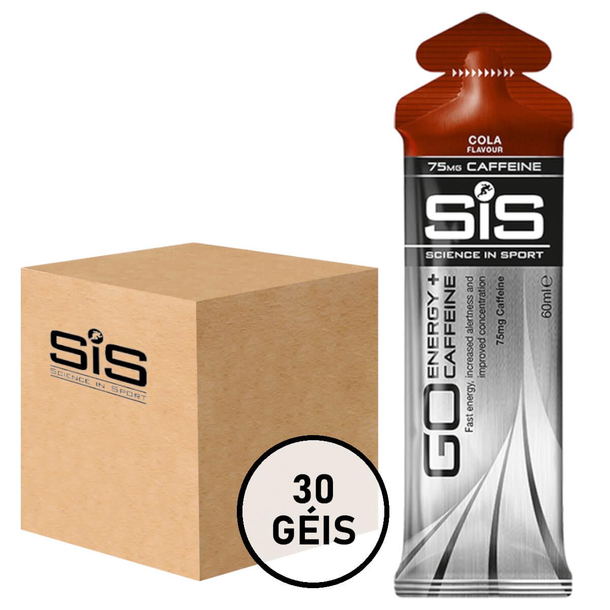 Gel Carboidrato SIS Energy Caffeine Cola 30un