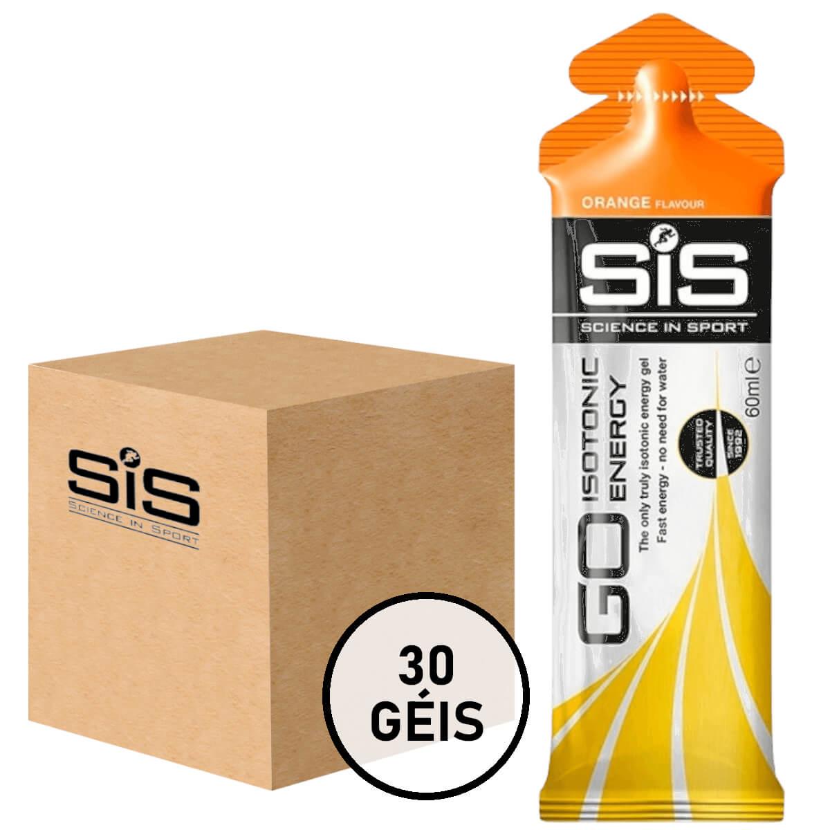 Gel Carboidrato SIS Energy Isotônico Laranja 30un