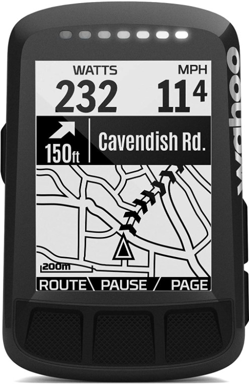 GPS Ciclocomputador Wahoo Elemnt Bolt Stealth
