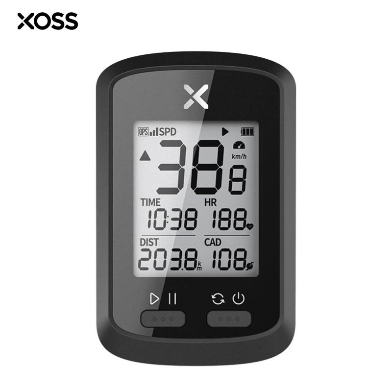 Gps para Ciclismo Xoss G+ Bluetooth Ant+ com Sensor Cadencia