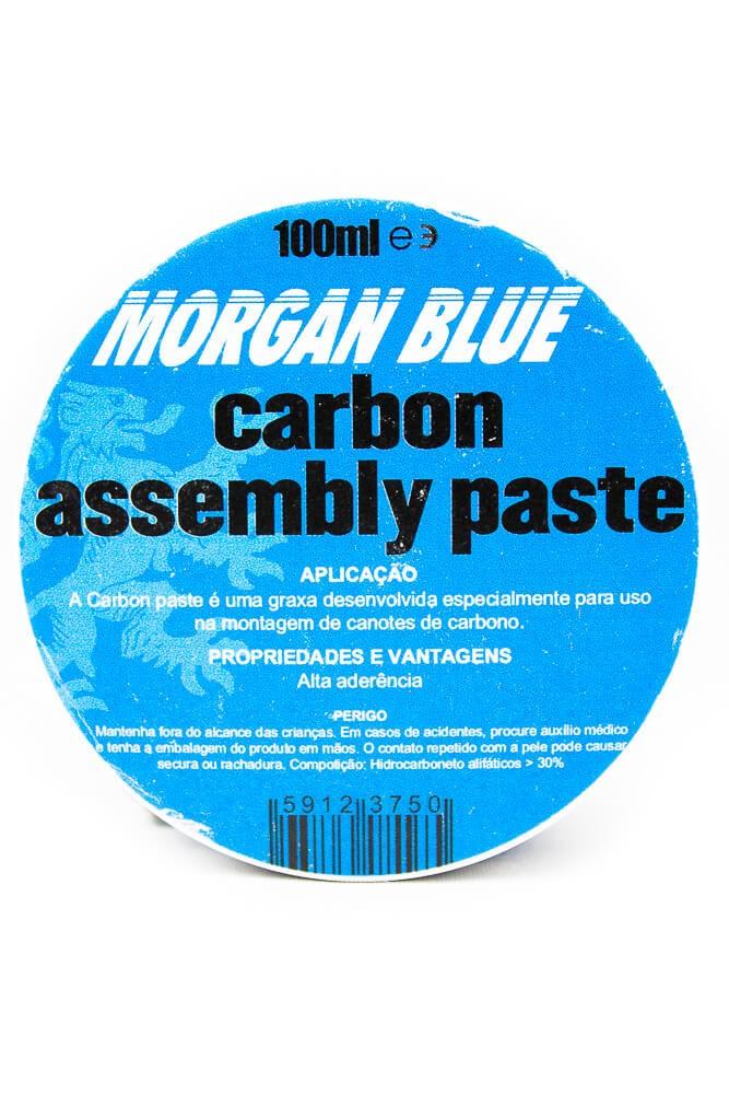 Graxa Para Carbono Morgan Blue 100CC Carbono Pasta