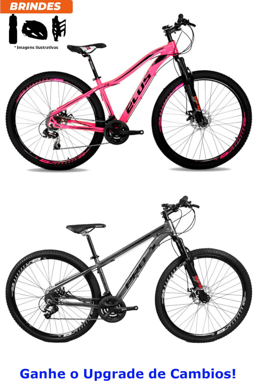 Kit 02 Bicicleta Aro 29 MTB Ecos 21v