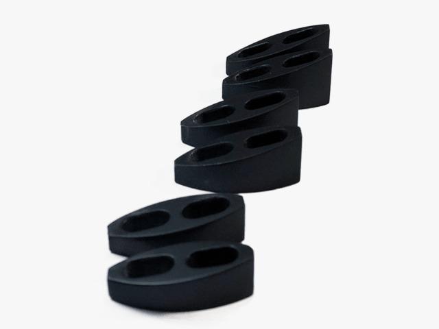 Kit Com 6 Espaçadores Para Clip de Guidão 5mm