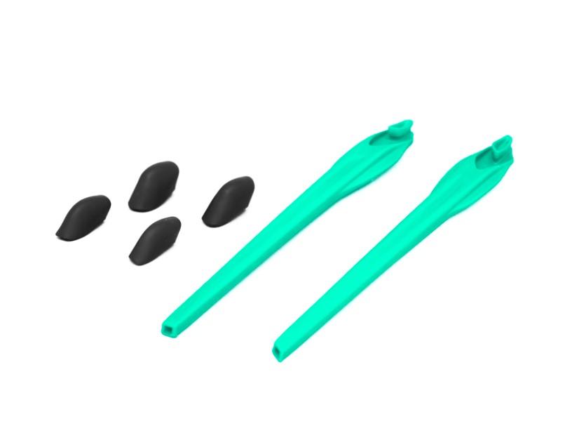 Kit Reposição Hastes Oakley Flak 2.0 Vde Piscina 2 Narigue
