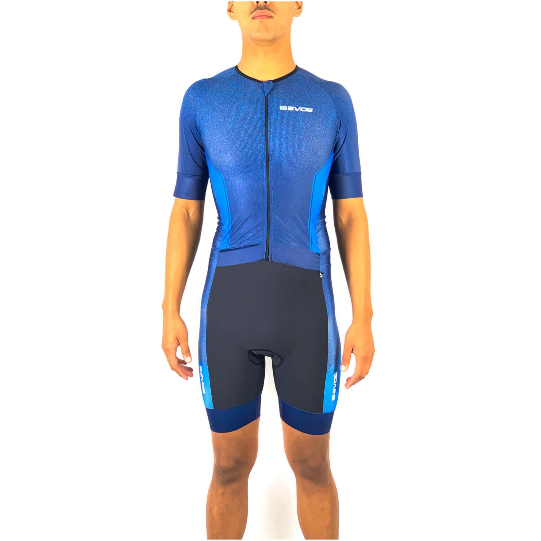 Macaquinho de Triathlon Masculino Evoe Azul