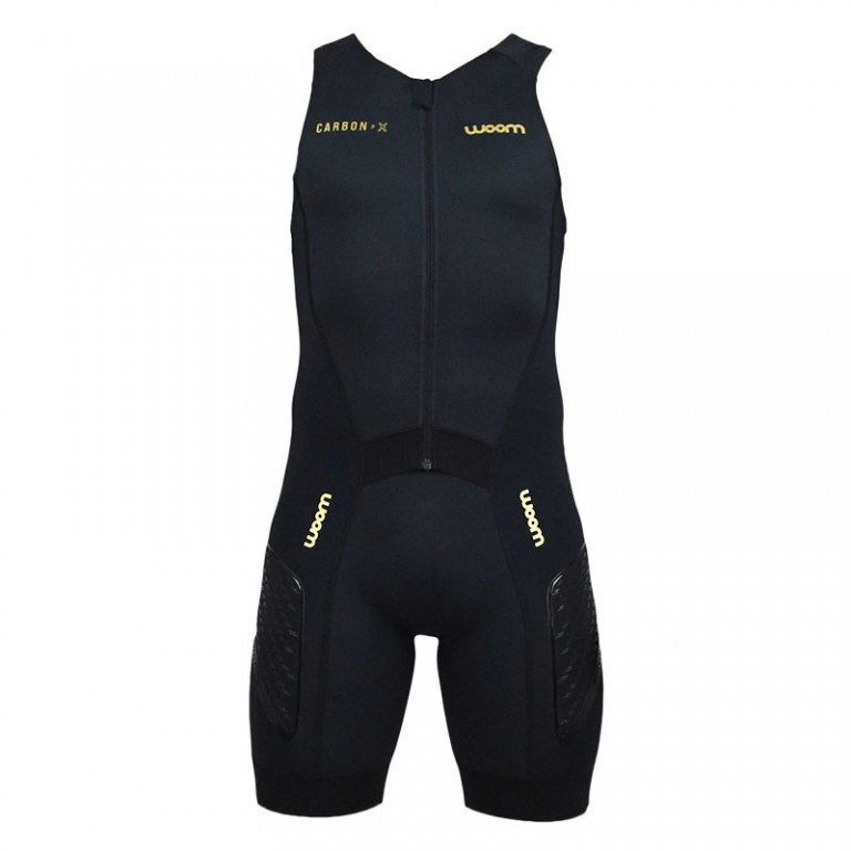 Macaquinho Triathlon Woom Masculino Carbon Black 2019