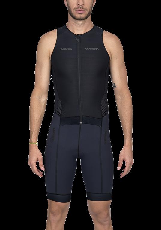 Macaquinho Triathlon Woom Masculino Carbon Black 2020