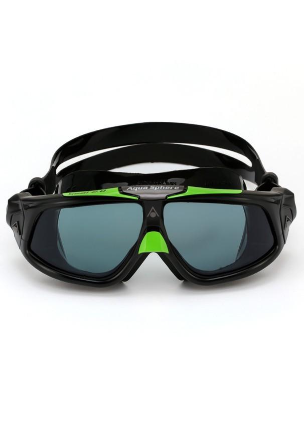 Máscara de Natação Aqua Sphere Seal 2.0 Preta/Verde
