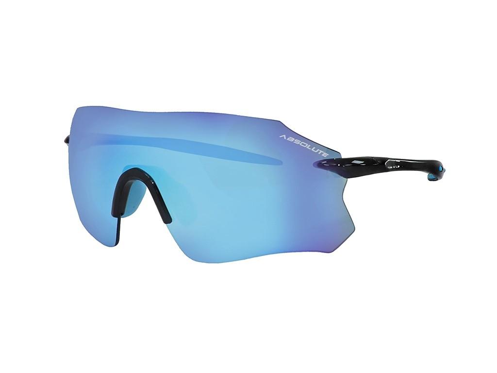 Óculos Ciclismo Absolute Prime SL Preto Azul Lente Azul