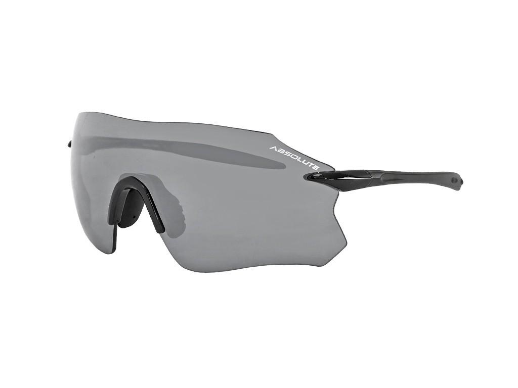 Óculos Ciclismo Absolute Prime Sl Preto Brilhante Lente Pta