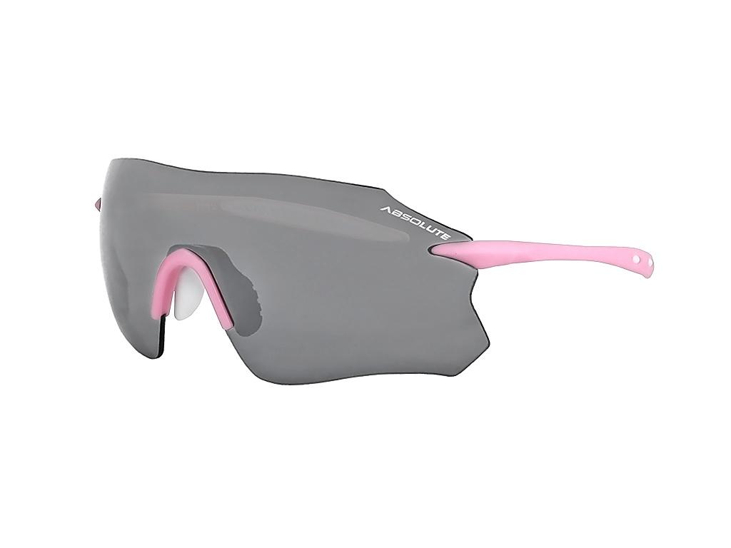 Óculos Ciclismo Absolute Prime SL Rosa e Branco Lente Fumê