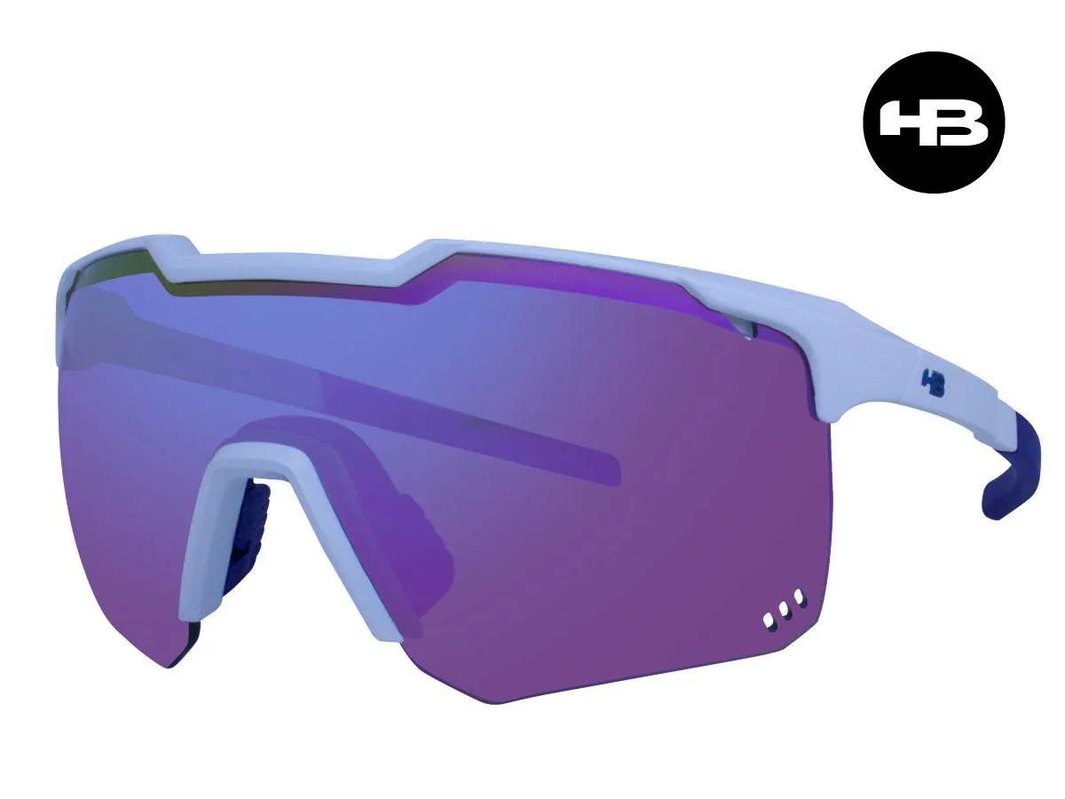 Óculos Ciclismo HB Azul Mountain Kit Lentes + Antiembaçante