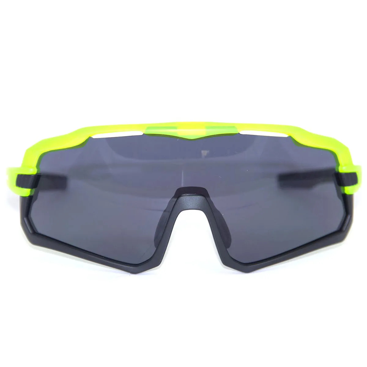 Óculos Ciclismo Mtb Absolute Wild Neon e Preto Fumê