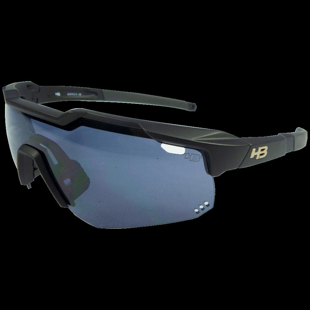 Óculos de Ciclismo HB Preto Evo Kit Lentes + Antiembaçante