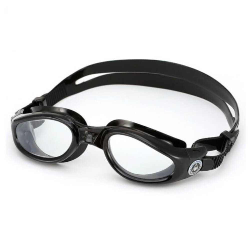 Óculos de Natação Aqua Sphere Kaimam Preto e Transparente