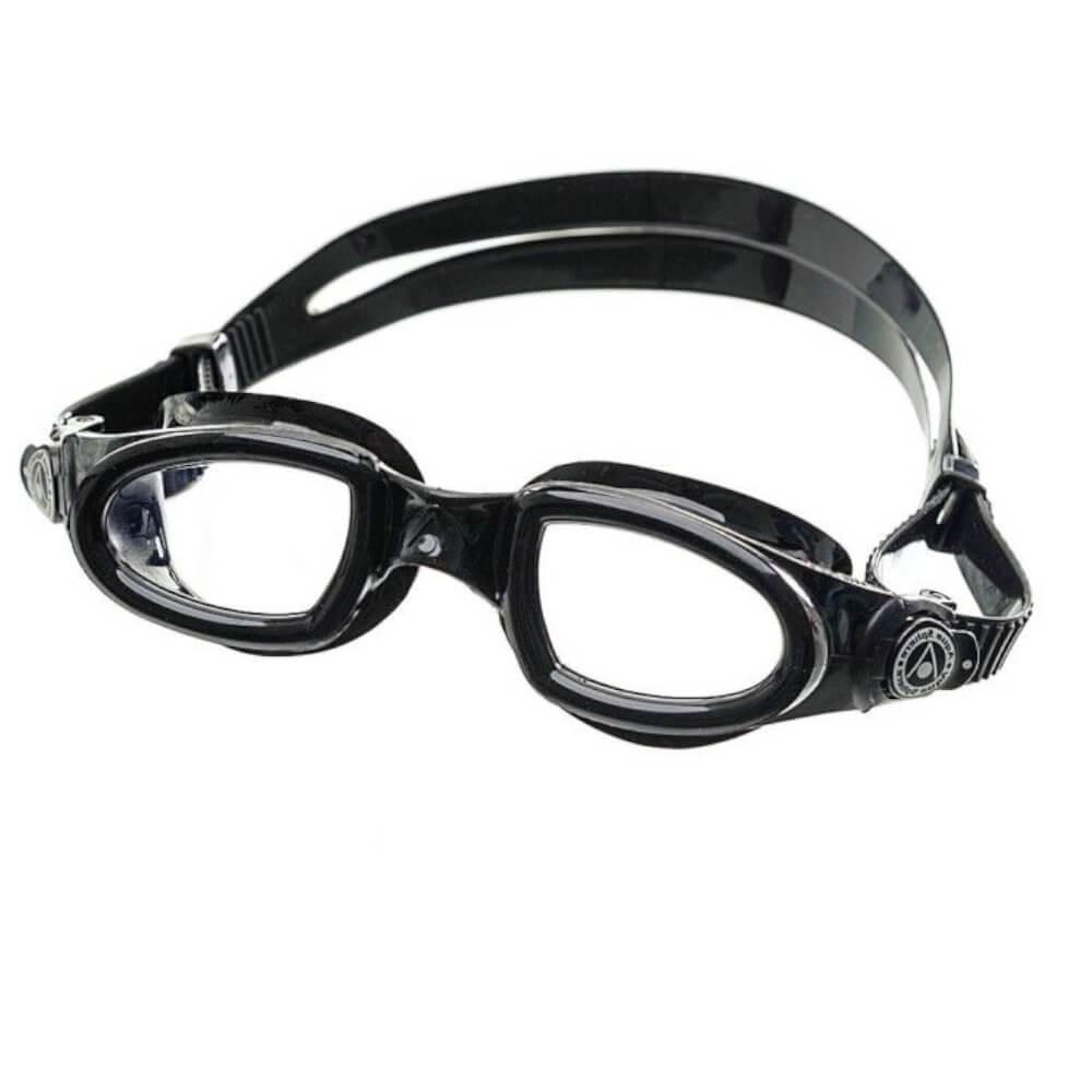 Óculos de Natação Aqua Sphere Mako Preto Lente Transparente