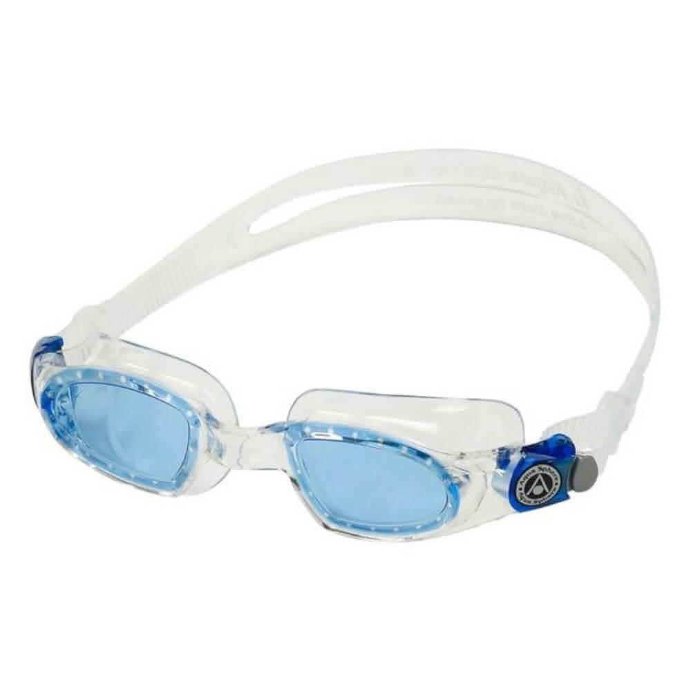 Óculos de Natação Aqua Sphere Mako Transparente Lente Azul