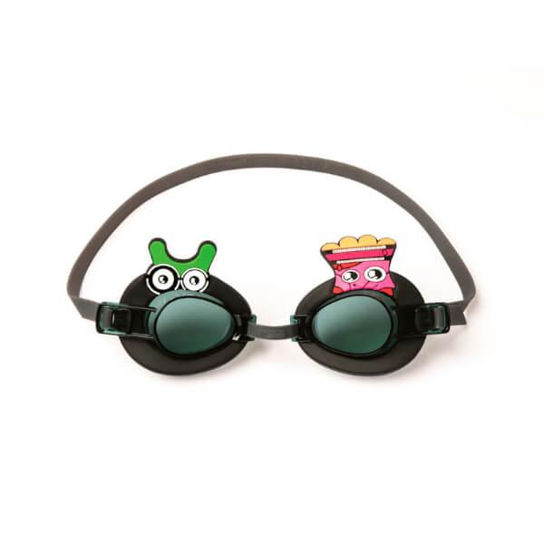 Óculos de Natação Bestway Preto Monstros 3+ Piscina ou Praia