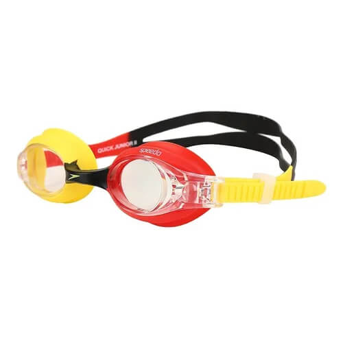 Óculos de Natação Infantil Speedo Quick JR II Verm Cristal