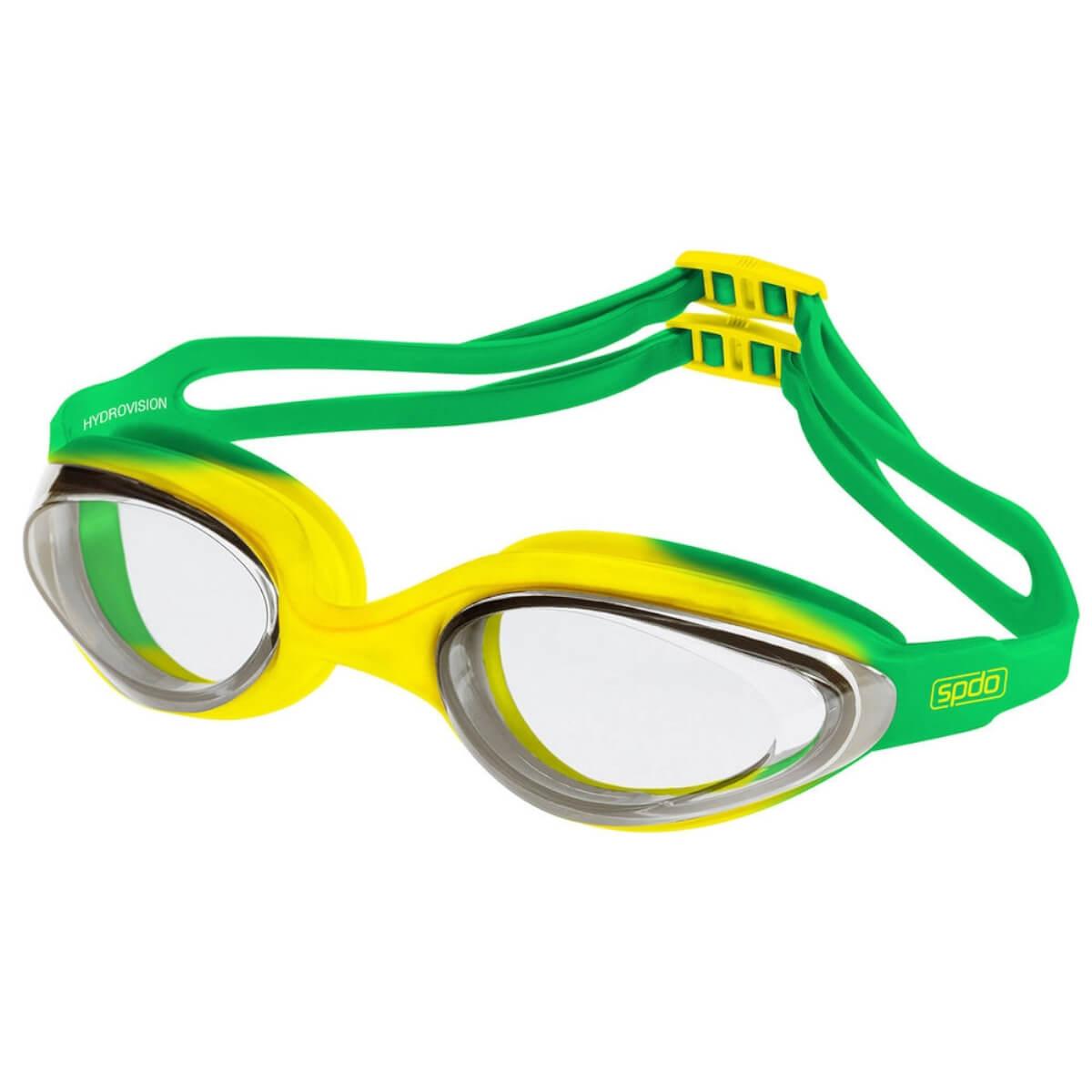 Óculos de Natação Speedo Hydrovision Brasil Lente Cristal
