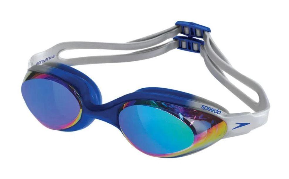 Óculos de Natação Speedo Hydrovision Mr Azul Lente Espelhada