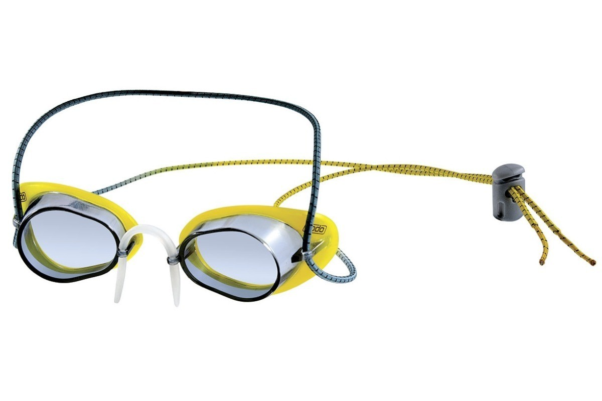 Óculos de Natação Speedo Speed Sueco Amarelo Fumê