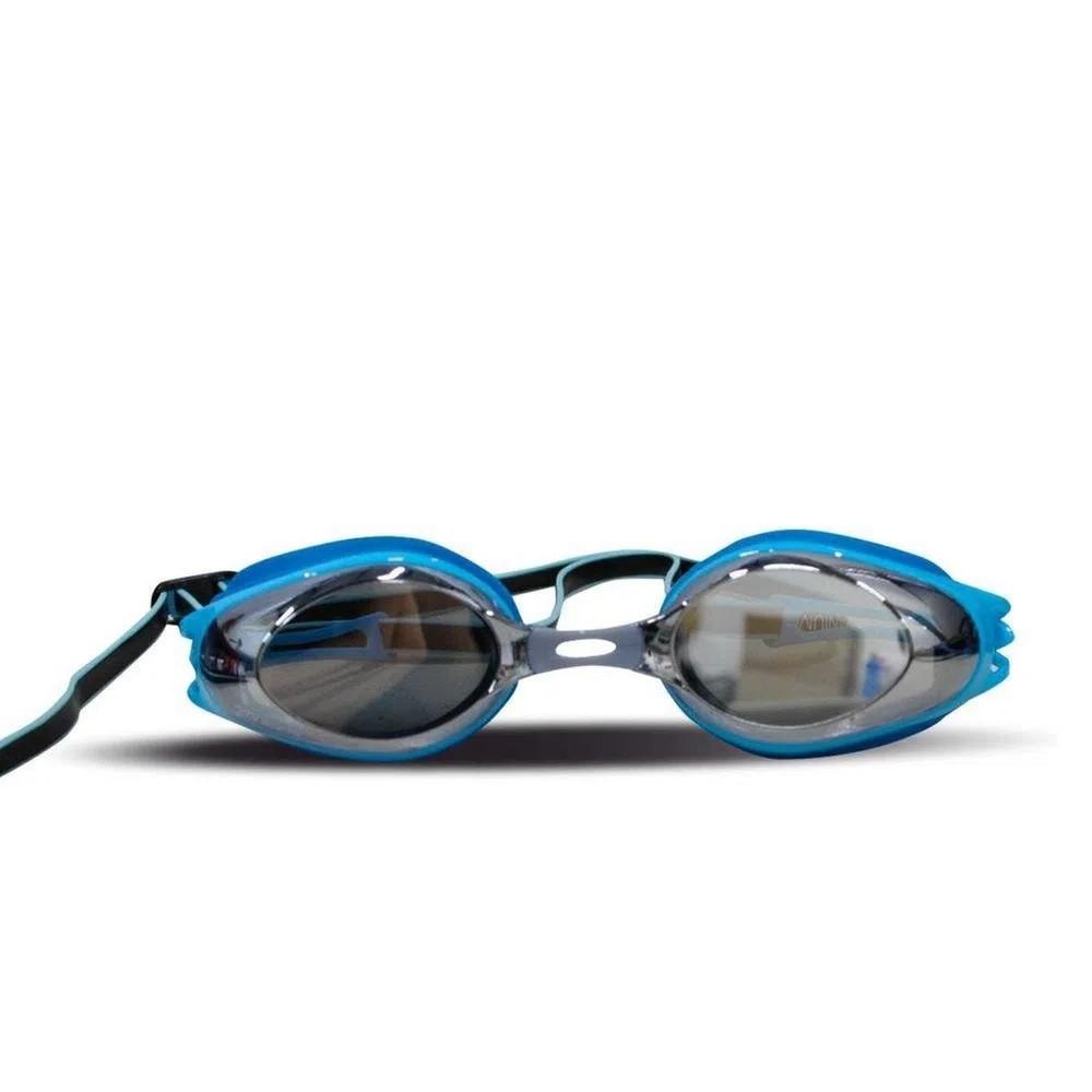 Óculos de Natação Speedo Titanium Azul Marinho Lente Fume