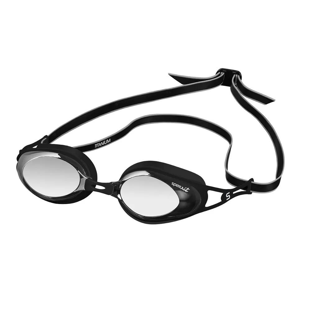 Óculos de Natação Speedo Titanium Preto Fumê