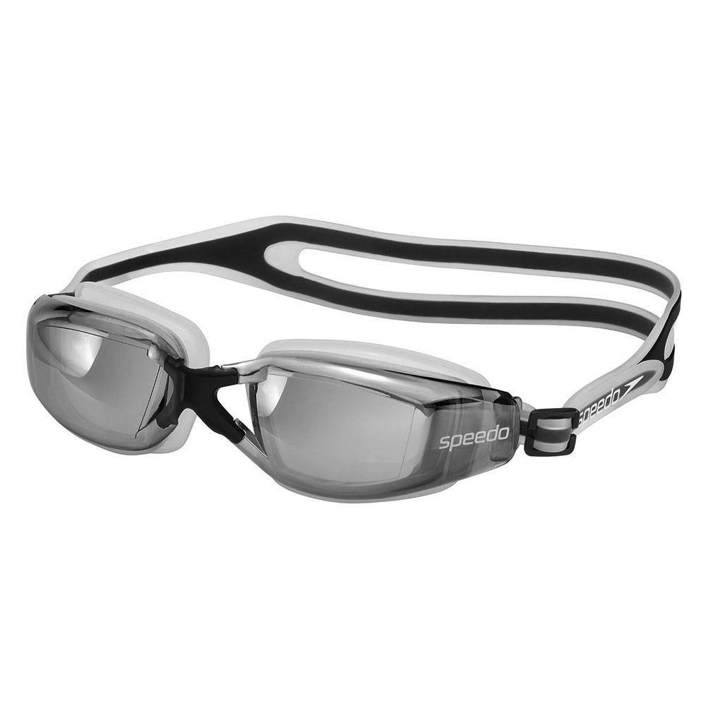 Óculos de Natação Speedo Xvision Preto Transp Lente Espelhad