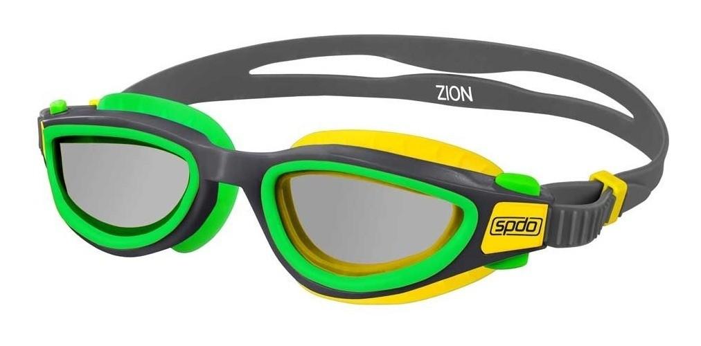 Óculos de Natação Speedo Zion Verde/Amarelo Fumê