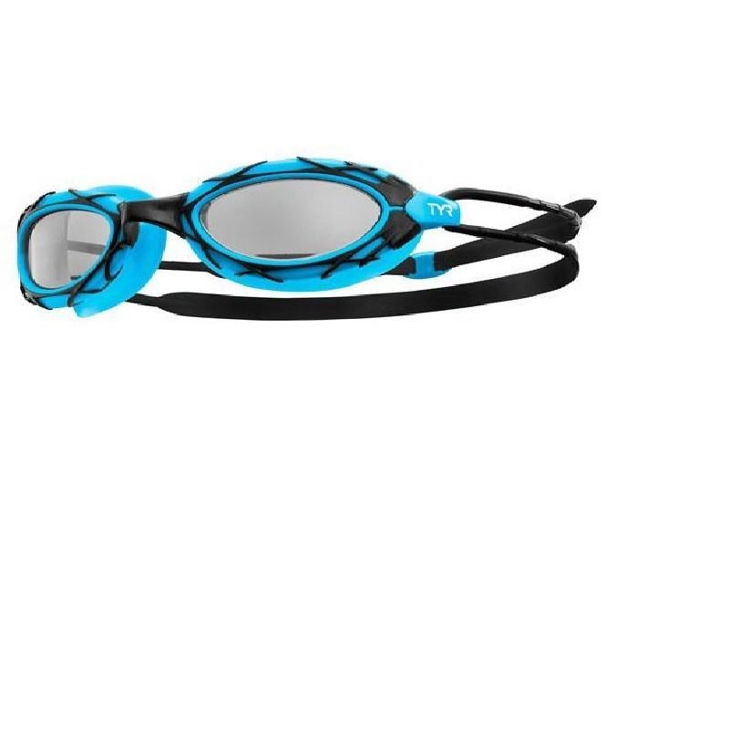 Óculos De Natação Tyr Nest Pro Importado Pto/Azul