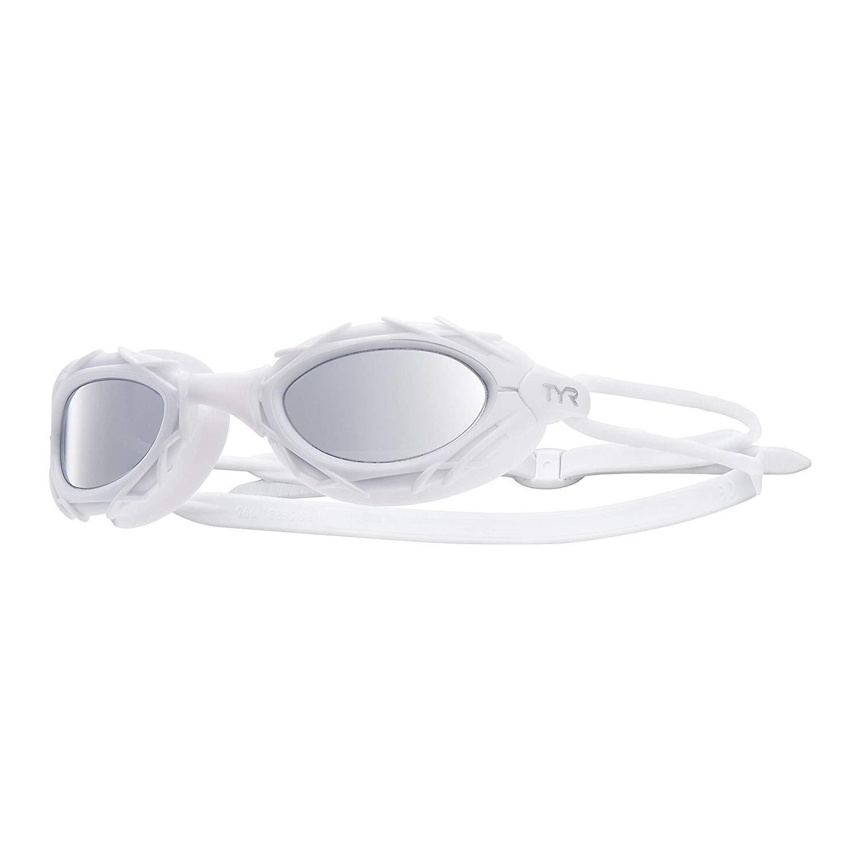 Óculos de Natação Tyr Nest Pro Nano Espelhado Branco