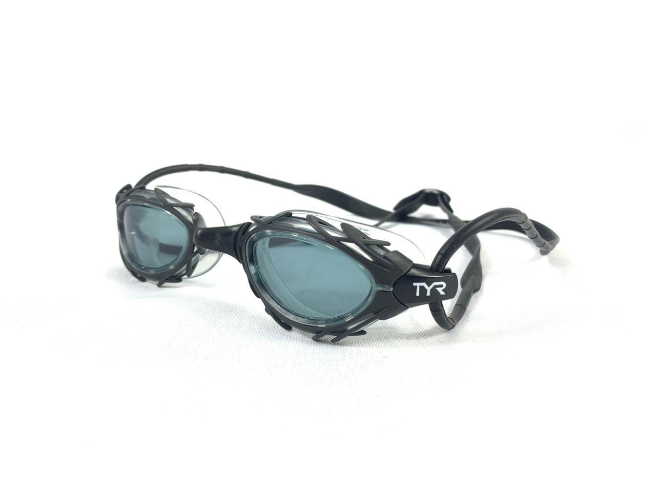 Óculos De Natação Tyr Nest Pro Nano Preto Fumê