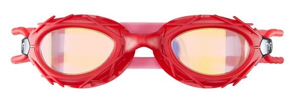 Óculos de Natação TYR Nest Pro Nano Vermelho Espelhado