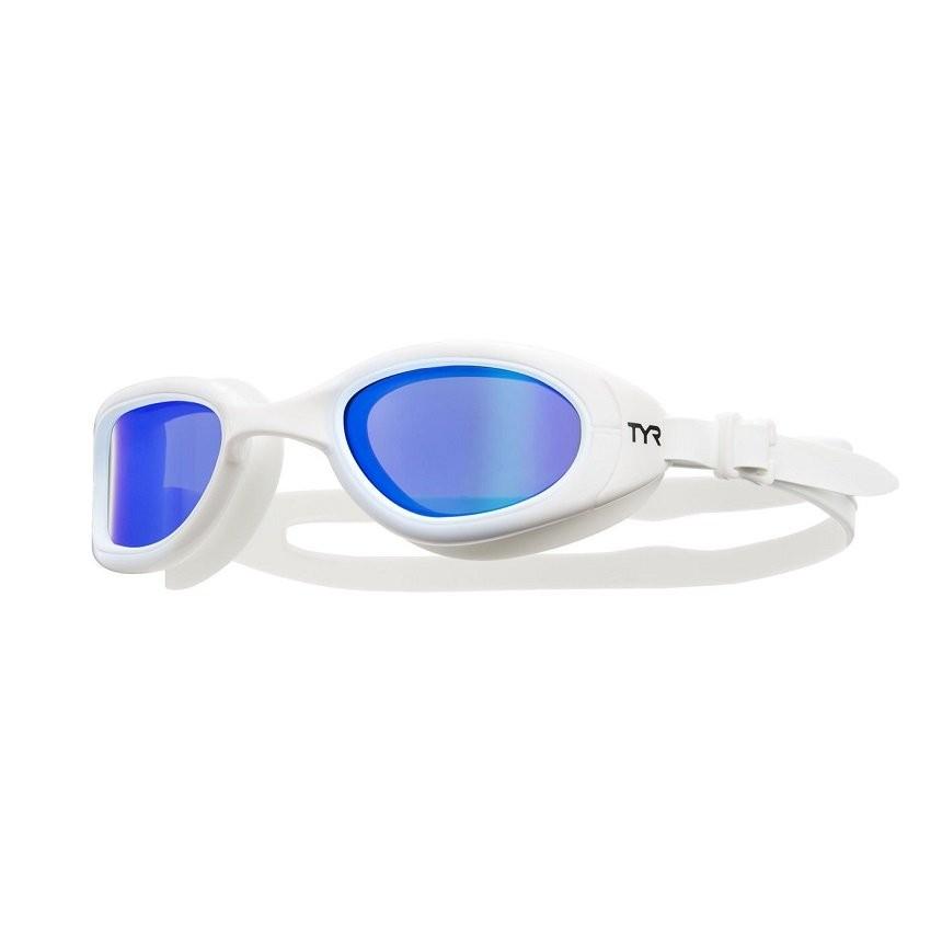 Óculos de Natação Tyr Special Ops Small Bco/Az Polarizado