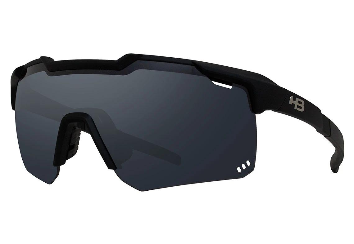 Óculos de Sol HB Shield Road Preto Lente Preta