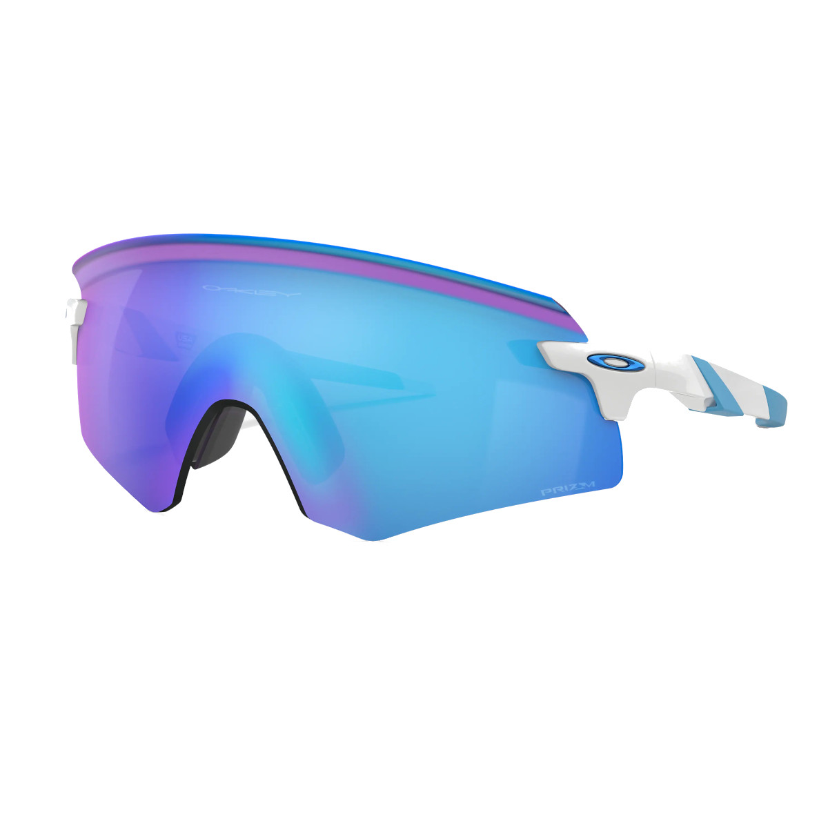 Óculos de Sol Oakley Encoder Polished White Prizm Sapphire