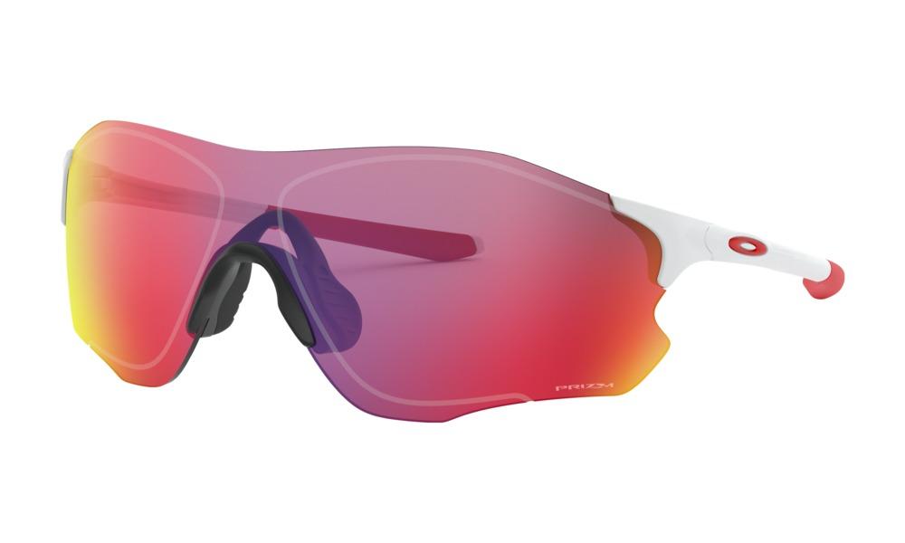 Óculos De Sol Oakley Evzero Path Matte White Prizm Road