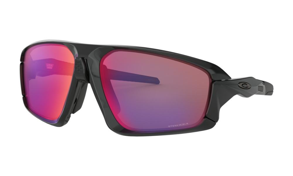 Óculos de Sol Oakley Field Jacket Polished Black Prizm Road
