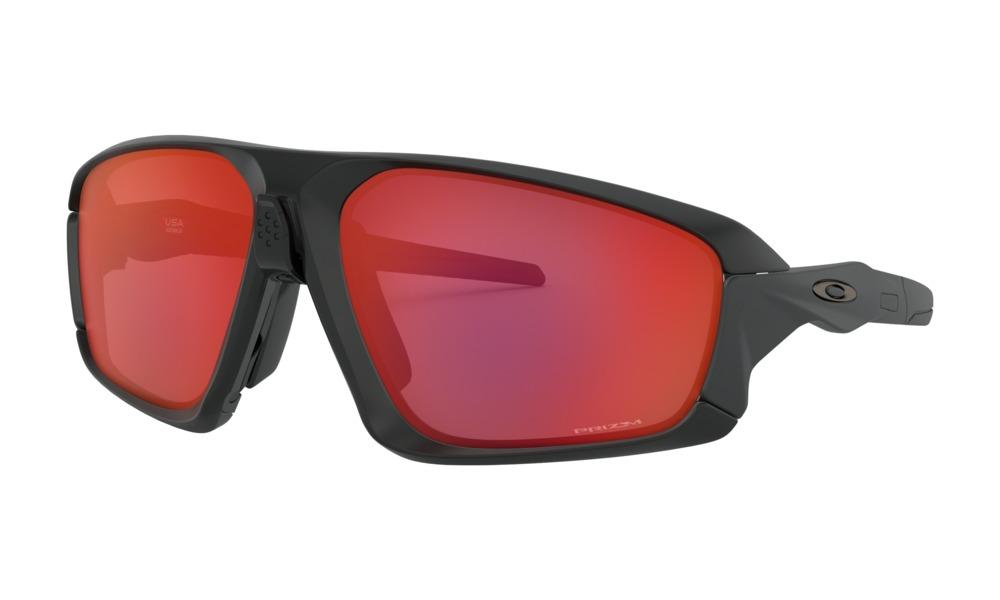 Óculos de Sol Oakley Field Jacket Trail Torch Matte Black
