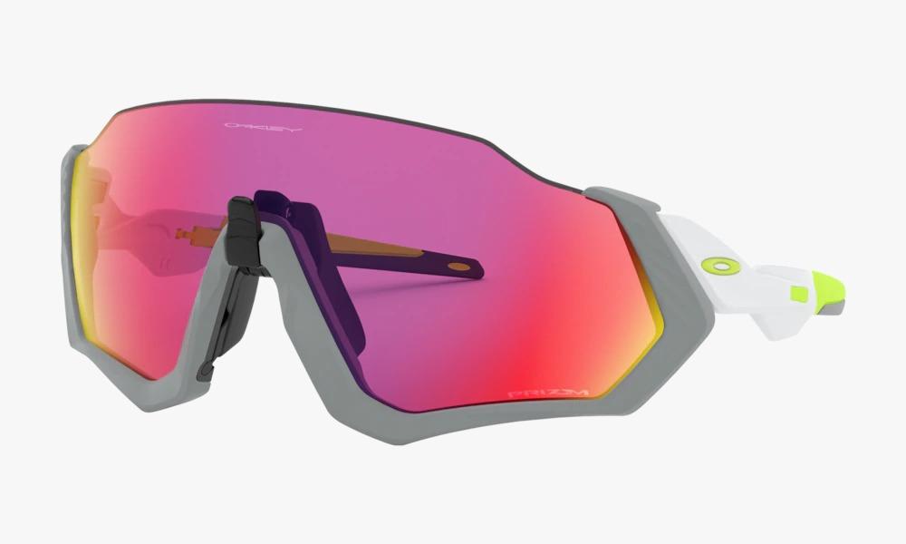 Óculos de Sol Oakley Flight Jacket Matte Fog Prizm Road