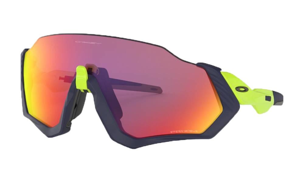 Óculos de Sol Oakley Flight Jacket Matte Navy Prizm Road