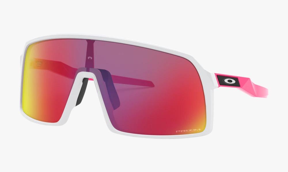 Óculos de Sol Oakley Sutro Matte White Prizm Road Jolt Colle