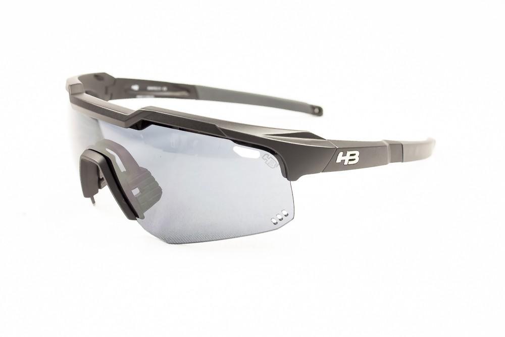 Óculos Hb Shield Evo Mountain Preto Lente Fumê