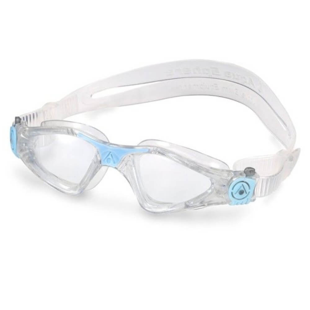 Óculos Natação Aqua Sphere Kayenne Compact Fit Gliter Transp