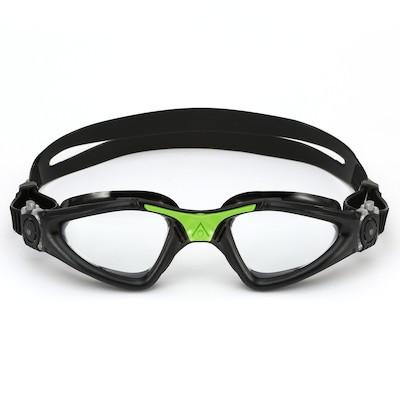 Óculos Natação Aqua Sphere Kayenne Preto Verde Transparente