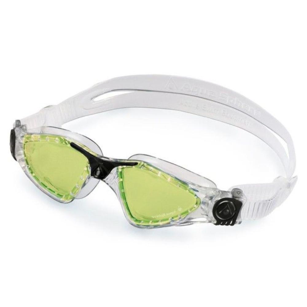 Óculos Natação Aqua Sphere Kayenne Transparente Verde Polari