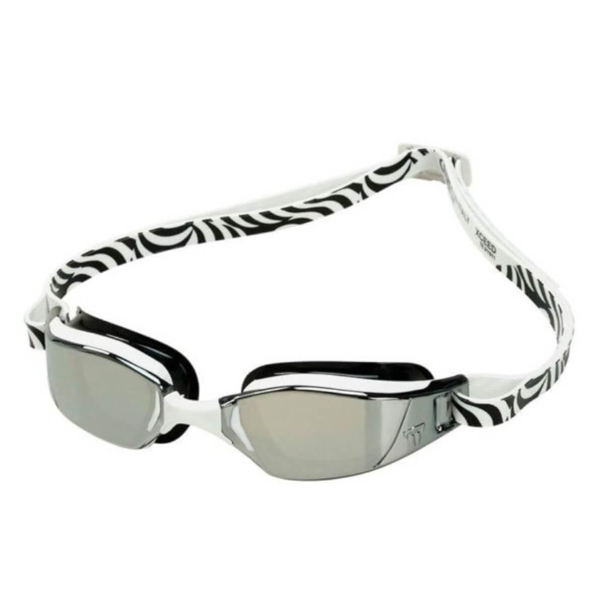 Óculos Natação Aqua Sphere M. Phelps Exceed Br/Pto Silver
