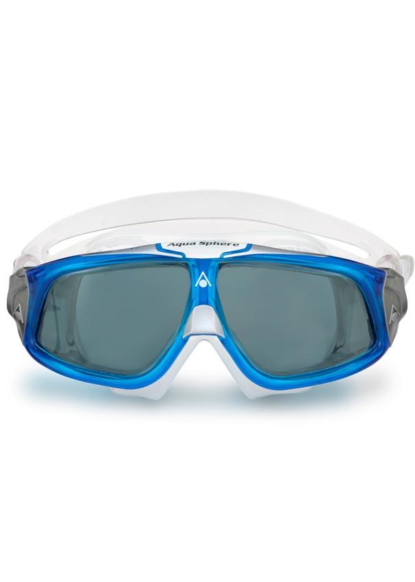 Óculos natação Aqua Sphere Seal 2.0 Transparente/Azul Fumê